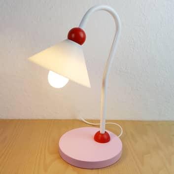 Szarmancka stołowa lampa do czyt. Prinzessin rosa