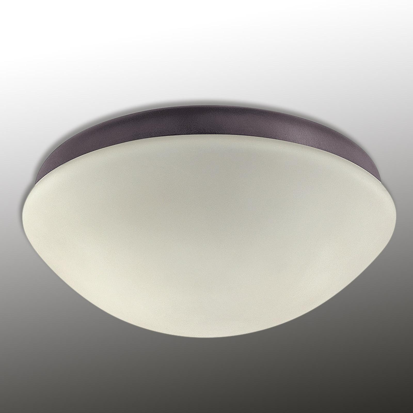 Lampe pr ventil. de plafond Outdoor Elements blanc