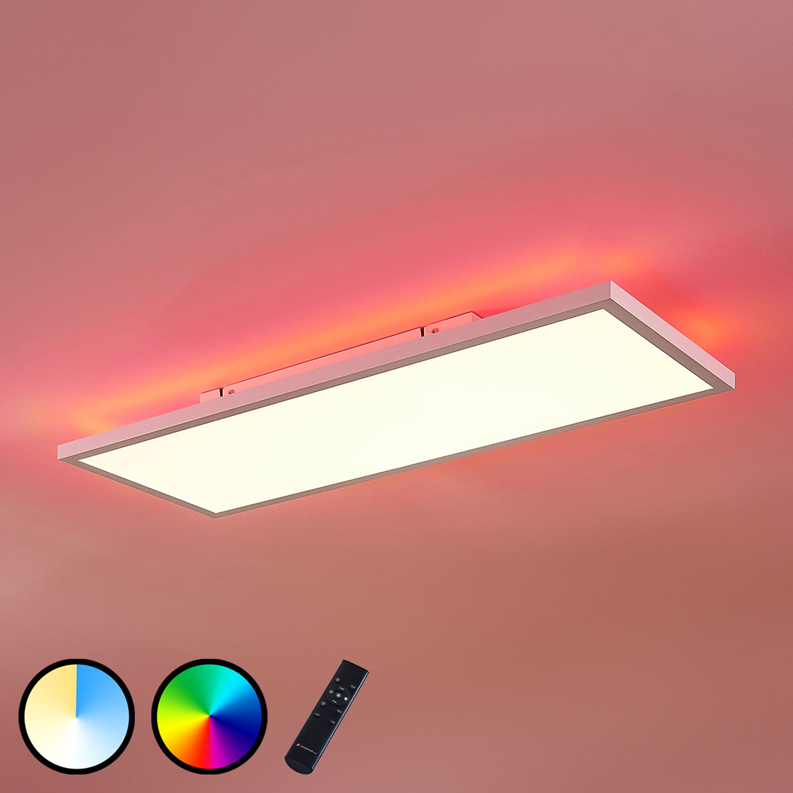 LED-panel Brenda CCT fjernbetjening, 30 x 80 cm