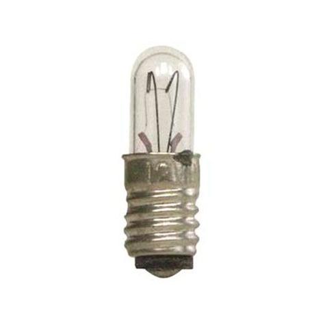 E5 1,1W 12V Reservlampor 5-pack, genomskinlig