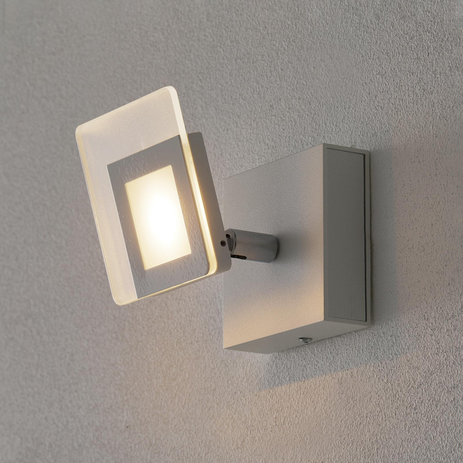 Hvid LED-vægspot Line