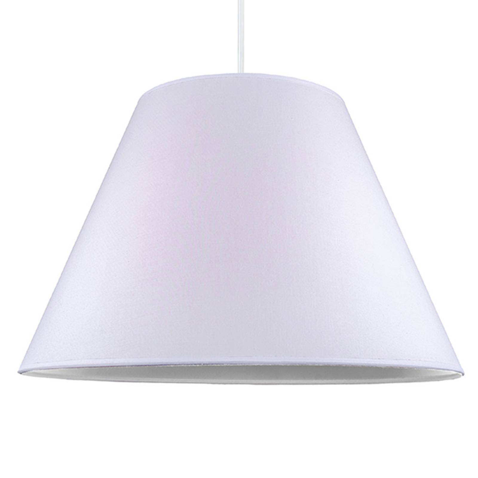 Lampa wisząca Anna, biała