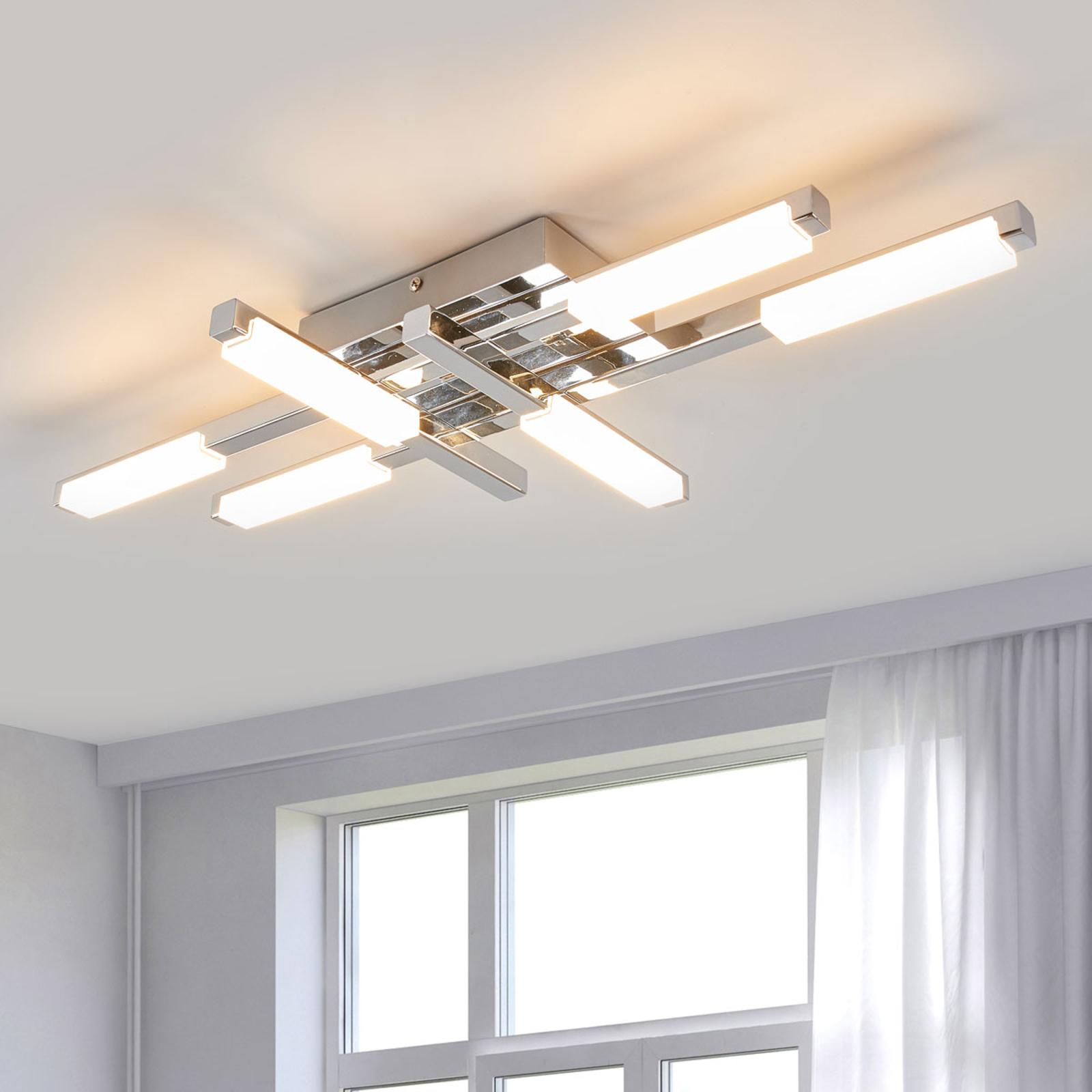 Jasně svítící LED stropní svítidlo Patrik, IP44