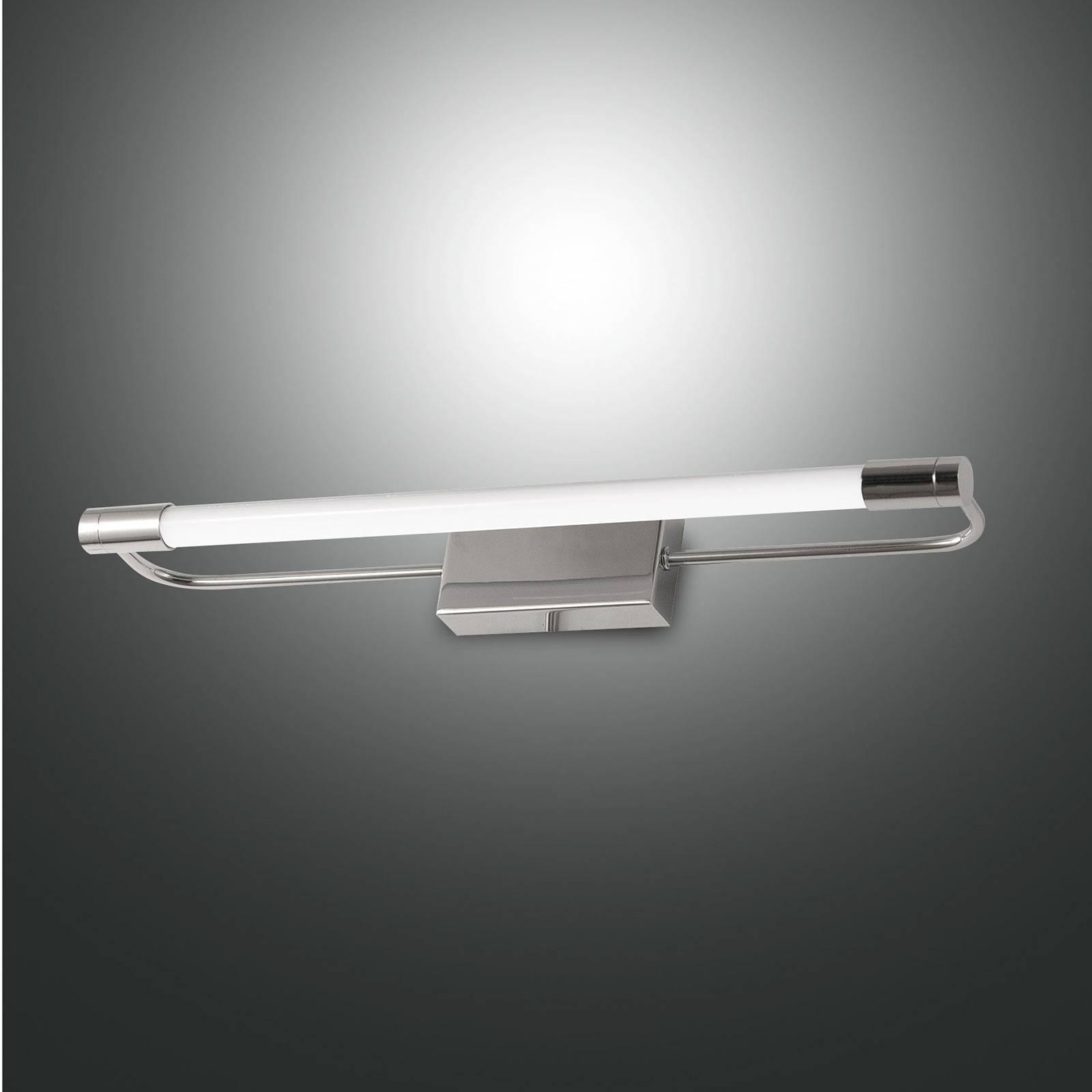 LED-Wandleuchte Rapallo, chrom, IP44, 40 cm