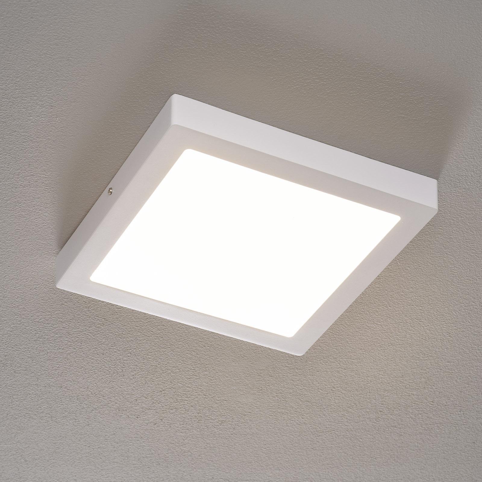 Fueva-Connect – lampa sufitowa LED 30 cm biała