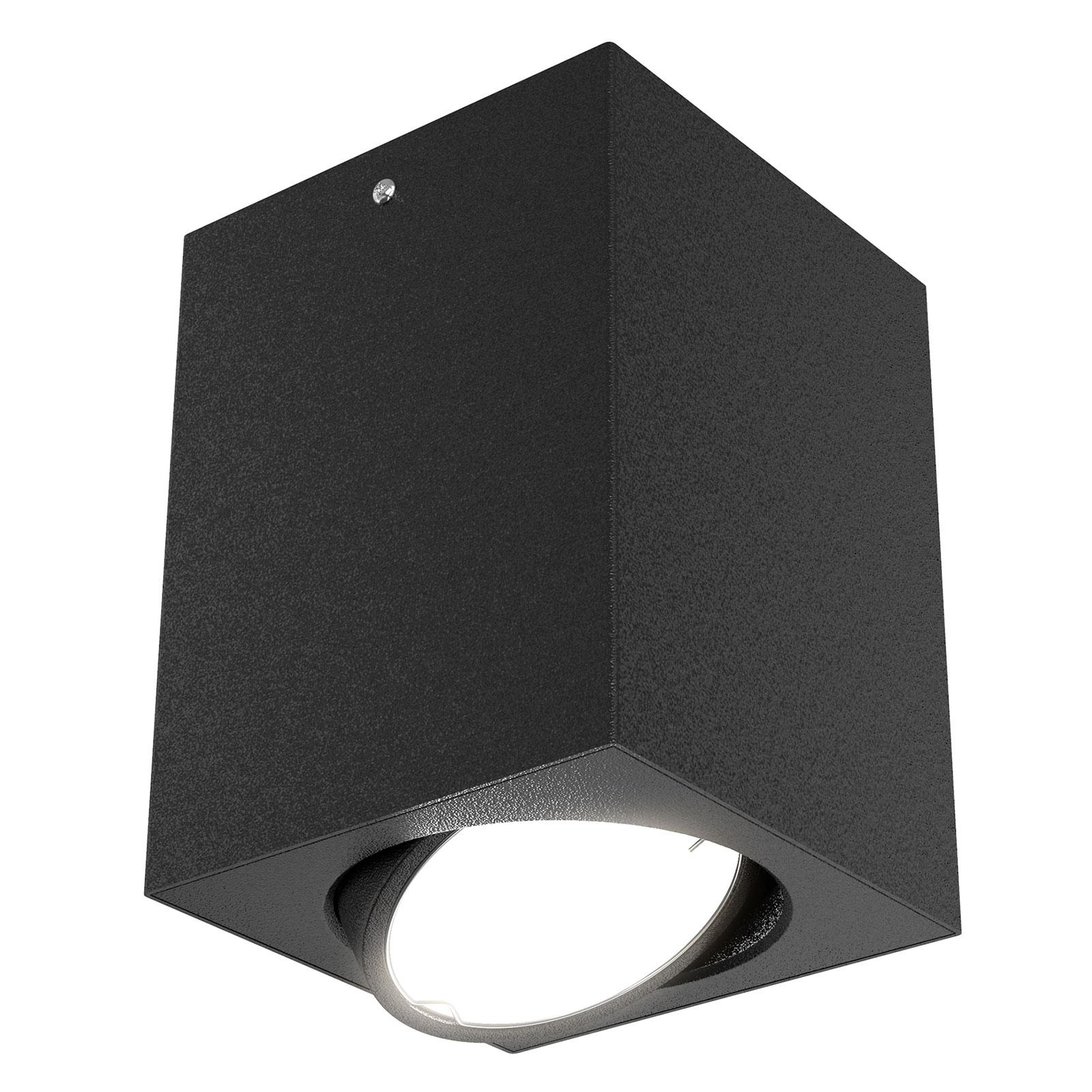 Faretto da soffitto LED 7120, GU10 nero