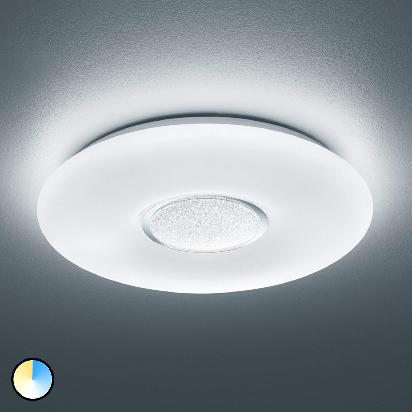 LED-taklampe Akina med fjernkontroll
