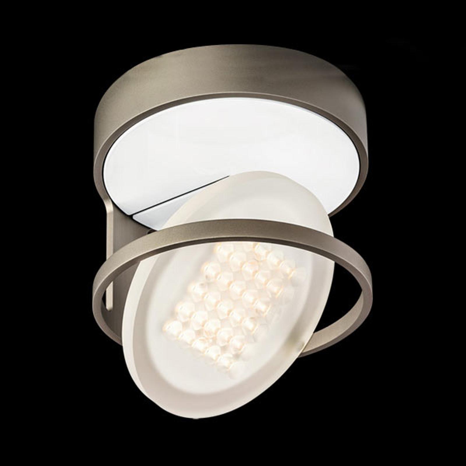 Nimbus Rim R 36 plafonnier LED, gris titane