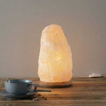 Stimmungsvolle Salzleuchte ROCK 7-10kg