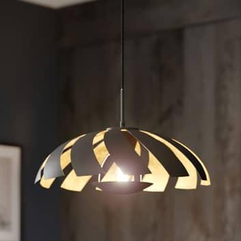 Lucande Archilleas závěsné svítidlo, černá-zlatá