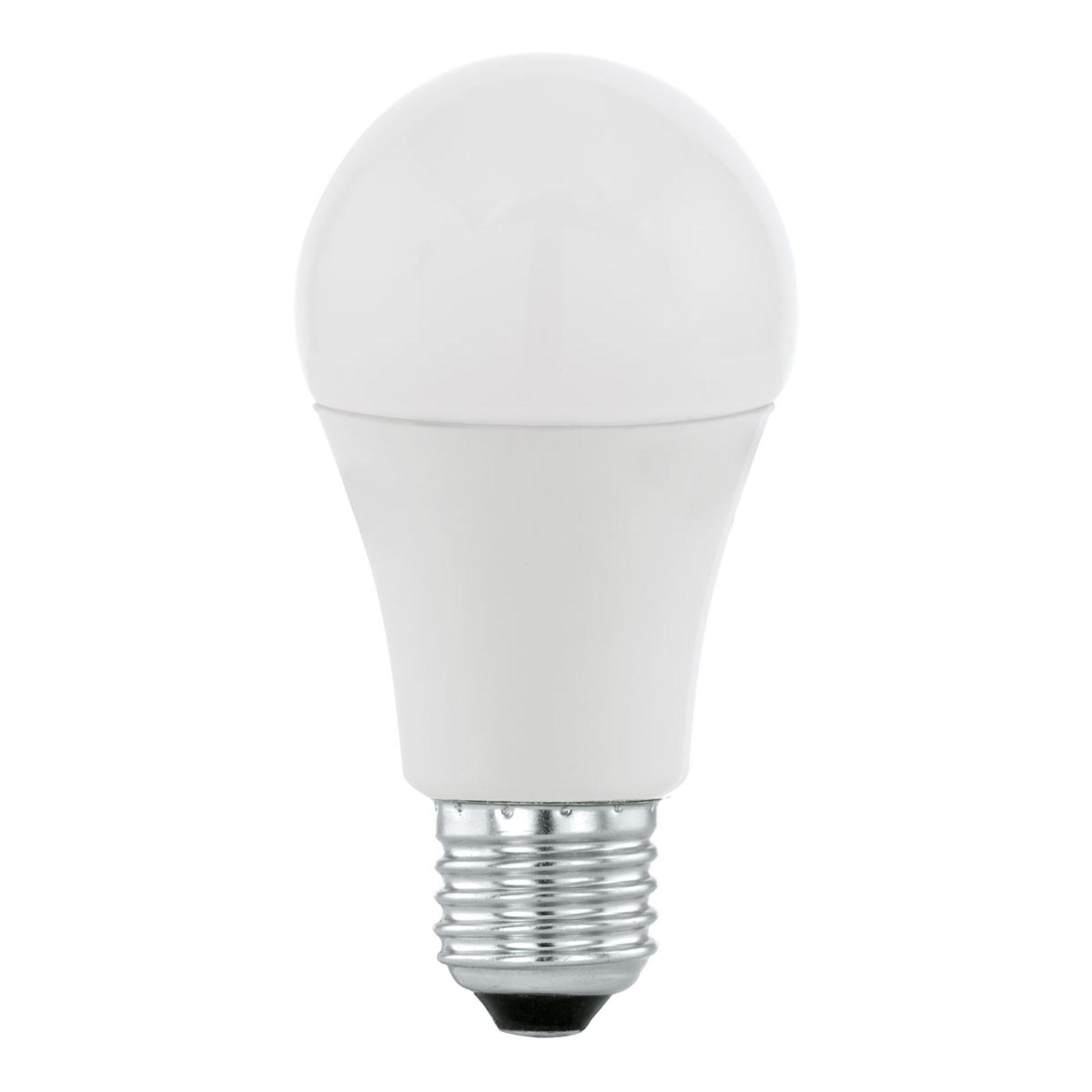 Żarówka LED E27 A60 10W, ciepła biel, opalowa