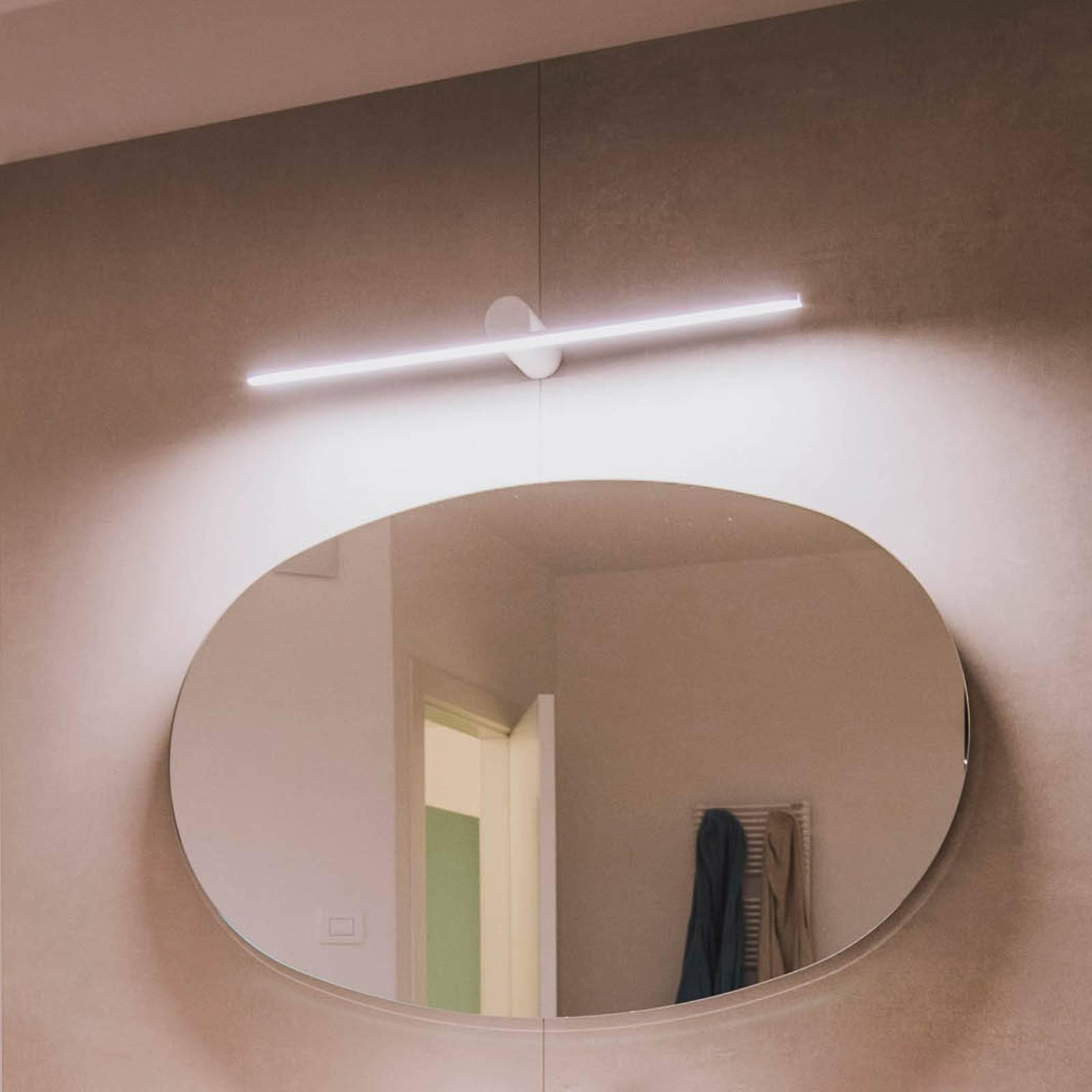 OLEV Slight AP LED-Wandleuchte 72,5 cm weiß