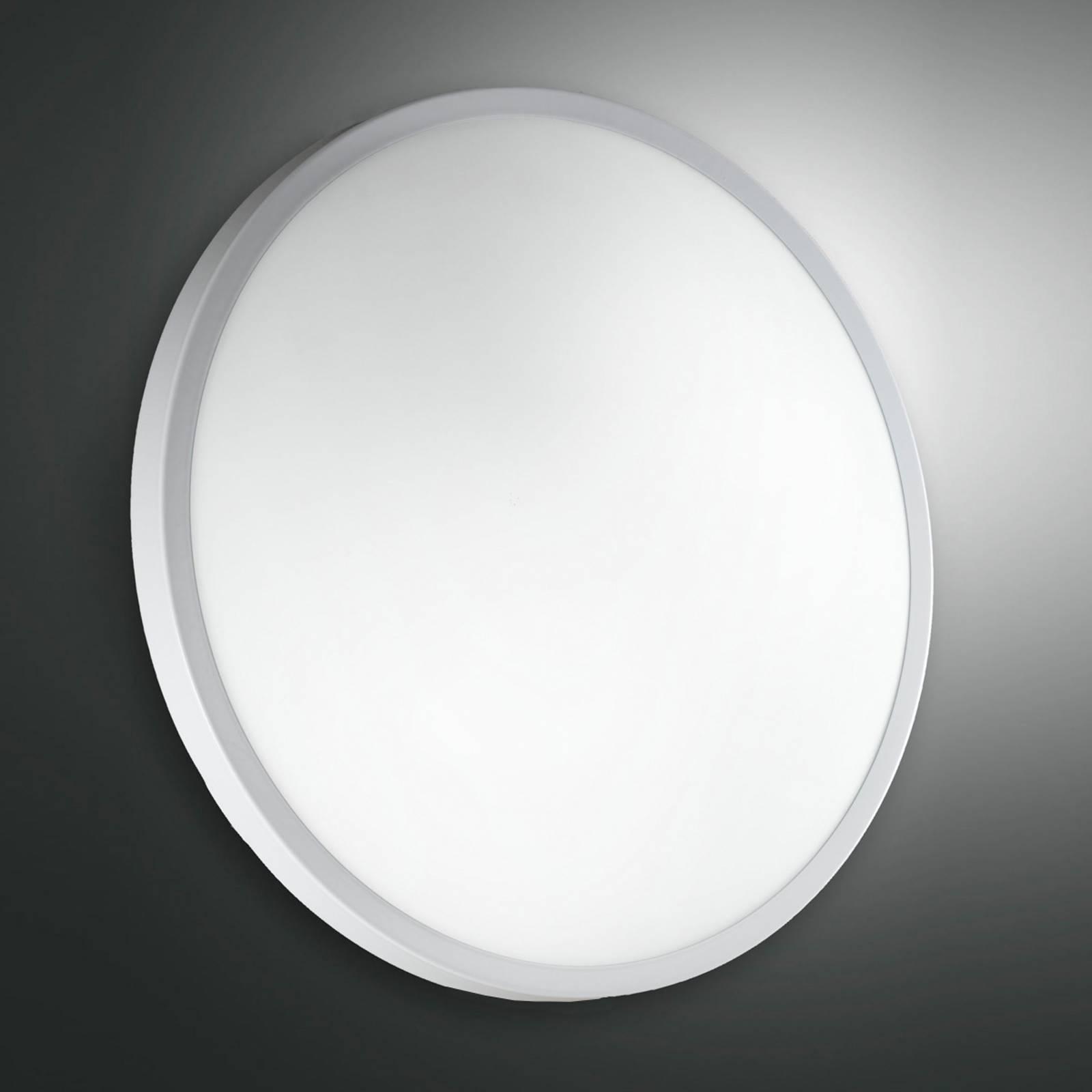 Plafond- en wandlamp PLAZA, glas 41 cm ws