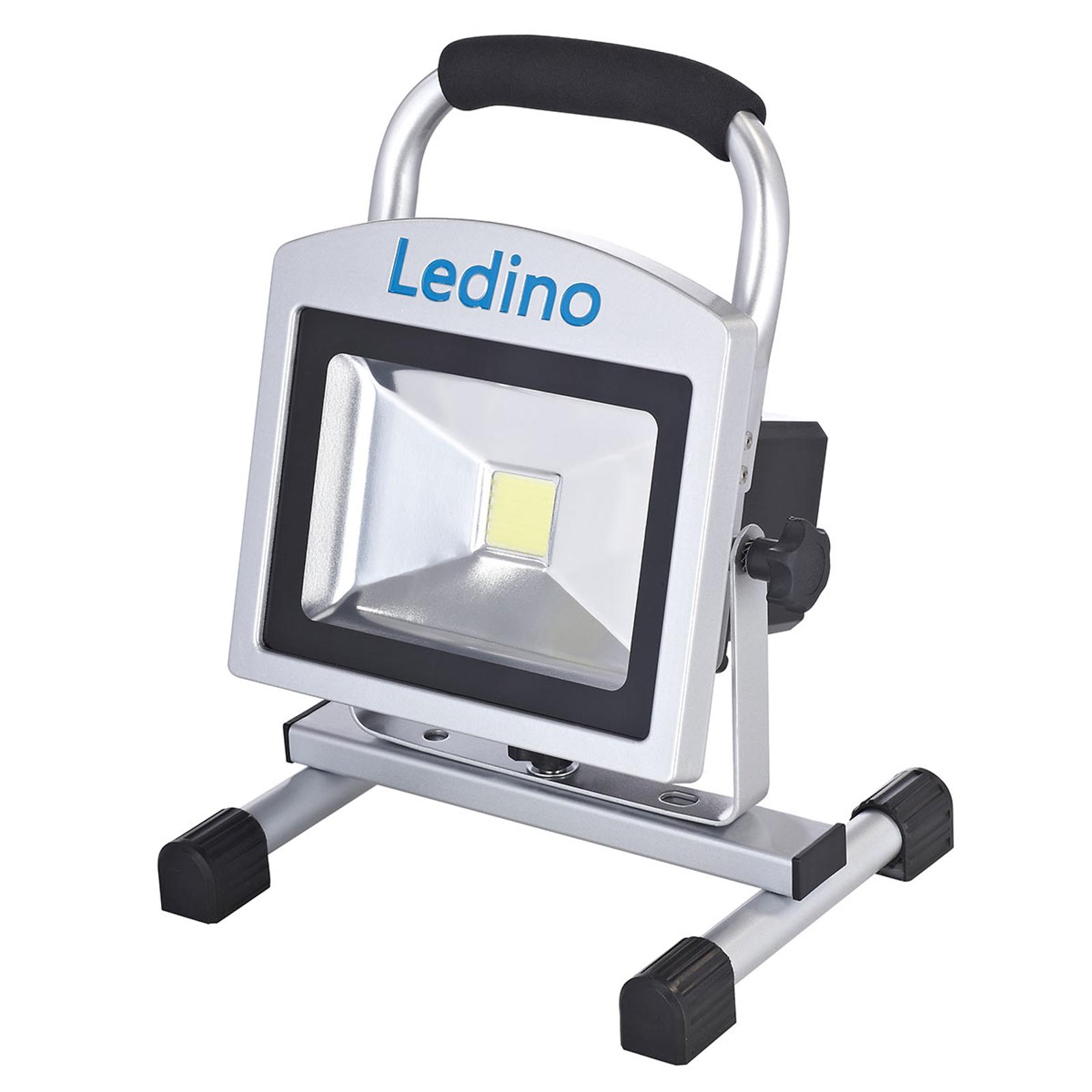 LED-Baustrahler Köpenick 209 Magnetfüße 20W 8,8Ah
