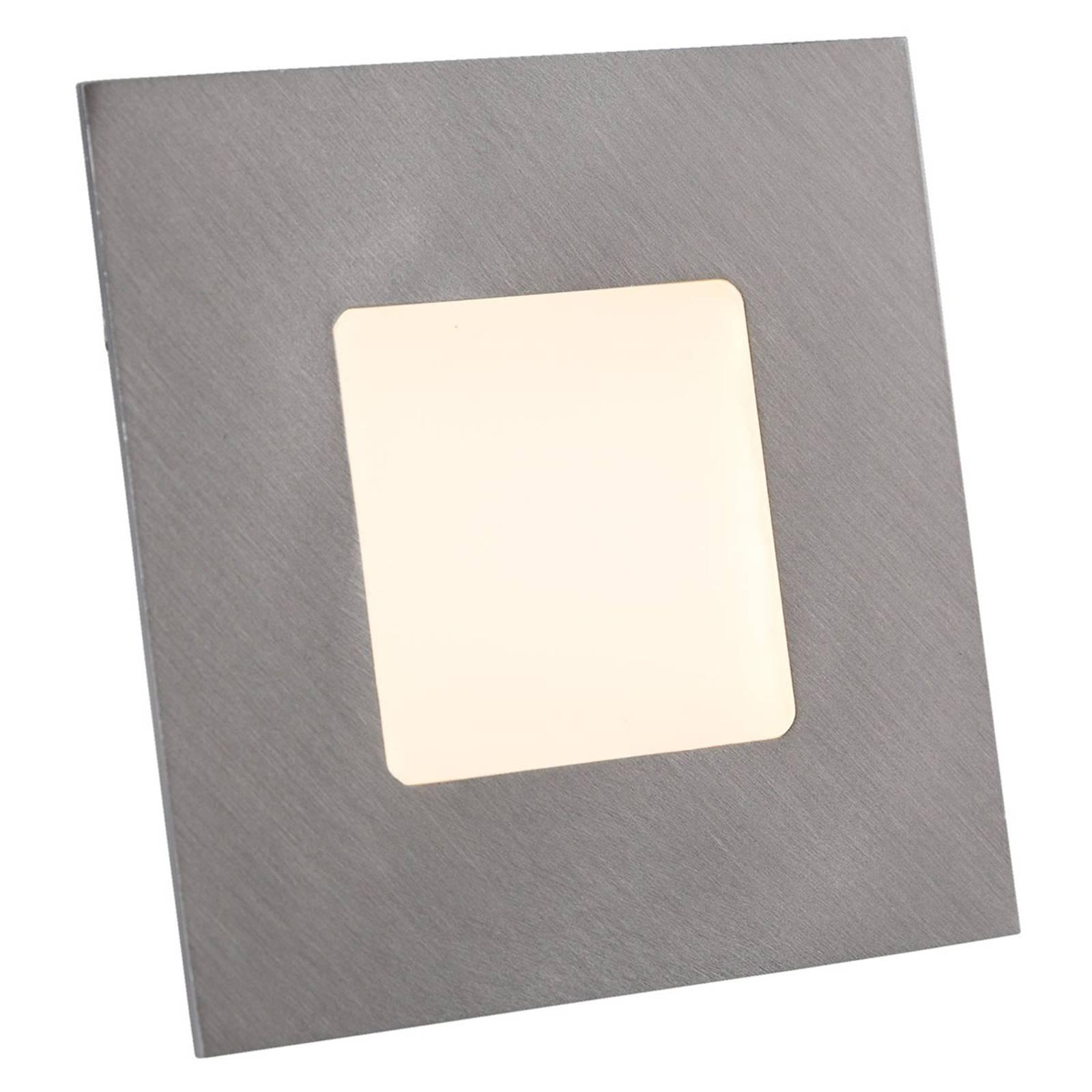 Lampada da incasso a LED per scatole in argento