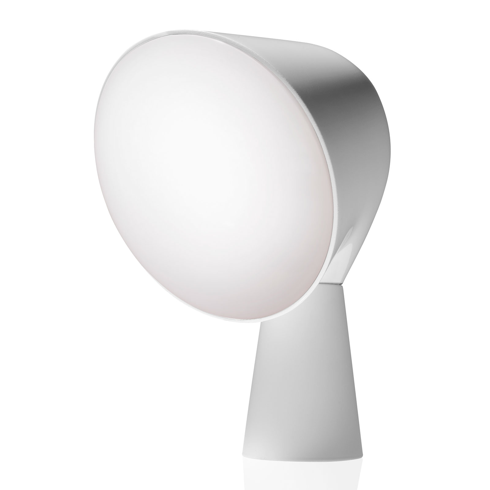 Foscarini Binic designerska lampa stołowa, biała