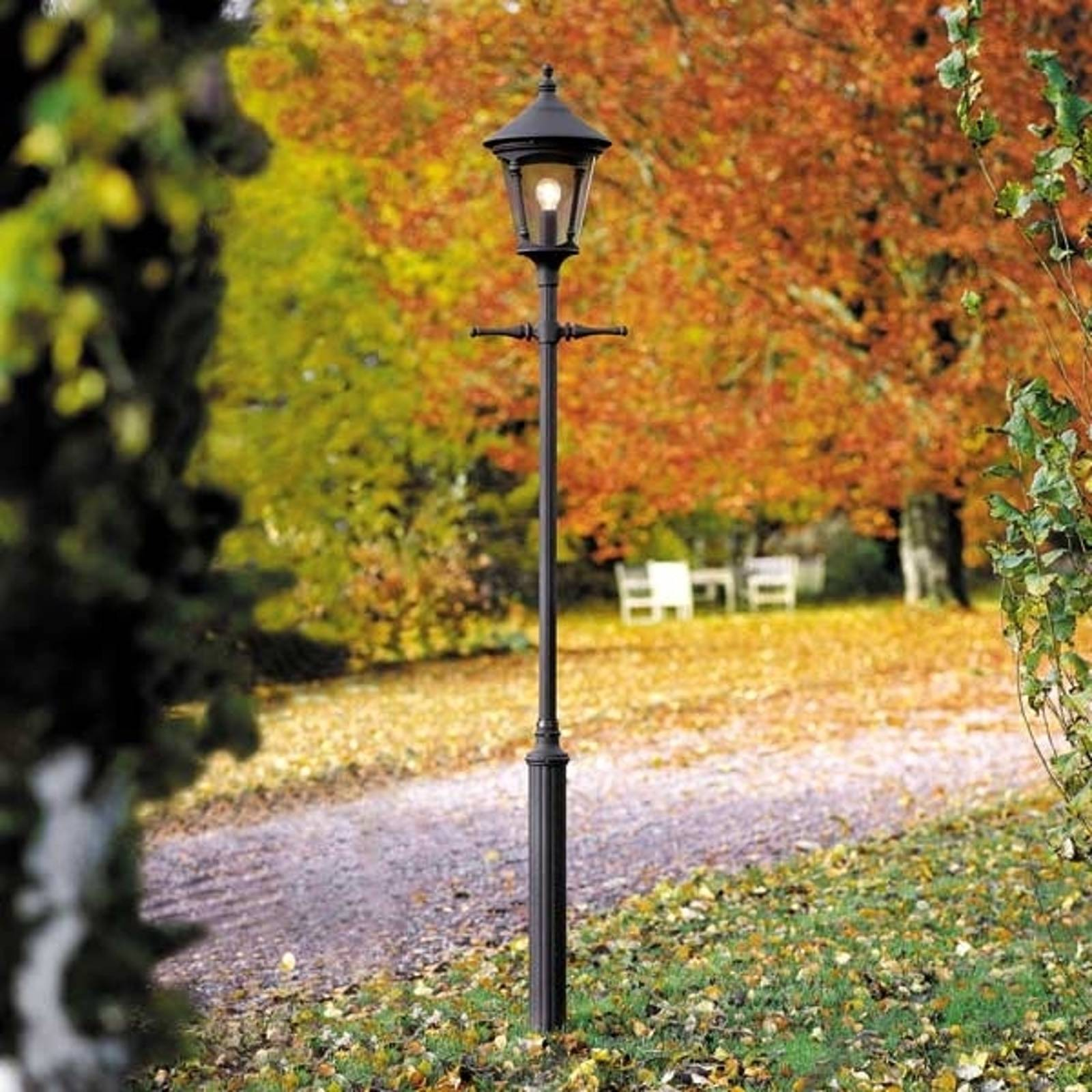 1-punktowa latarnia VIRGO, czarny mat