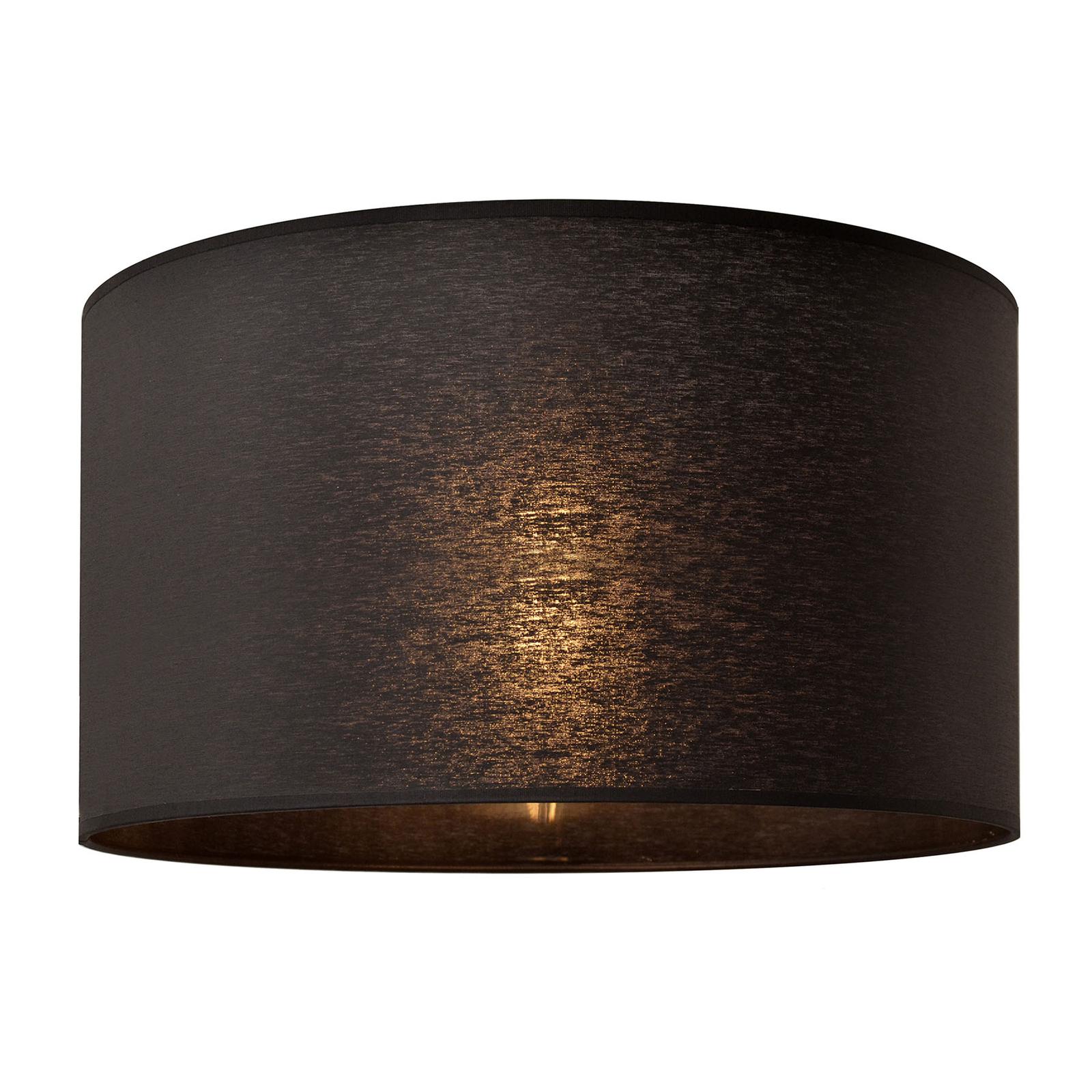 Lampeskjerm Alba, Ø 45 cm, E27, svart
