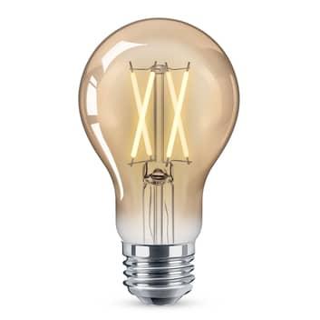 WiZ E27 LED A60 filament ravgul 6,5 W 2000-4500 K