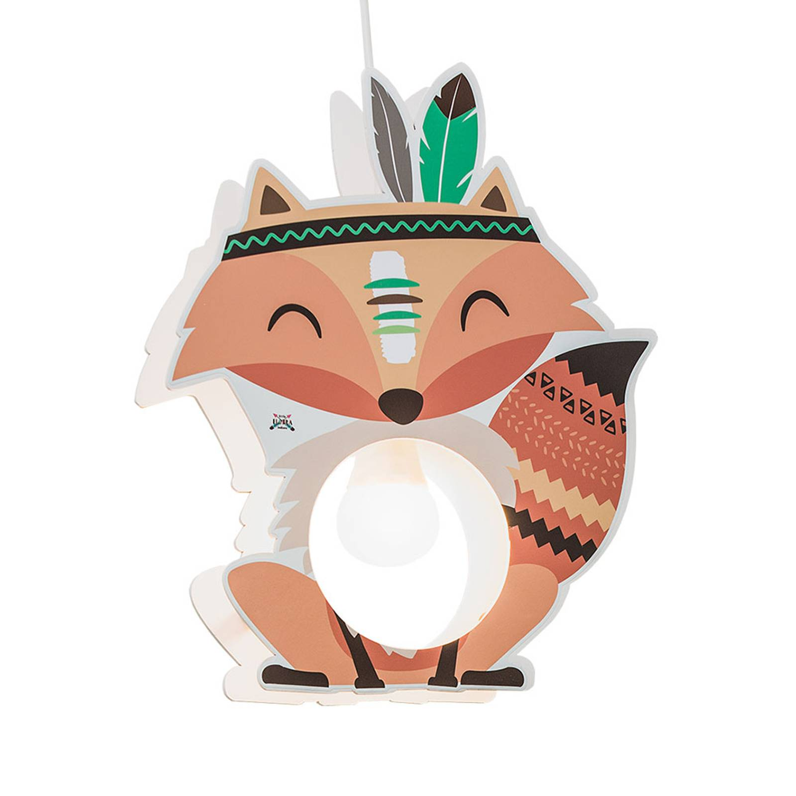 Pendelleuchte Little Indians, Fuchs Filip, orange