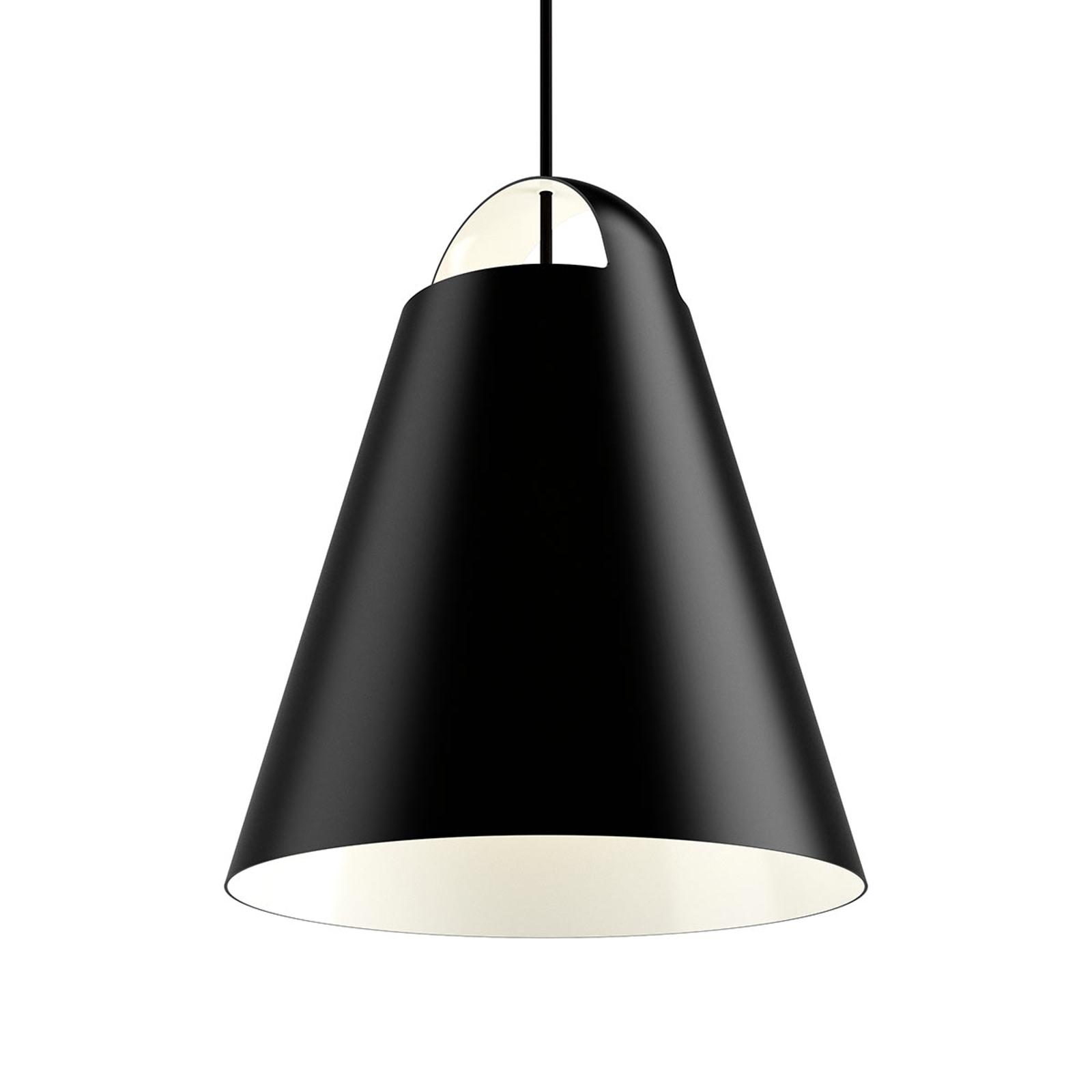 Design hanglamp Above, zwart, 40 cm