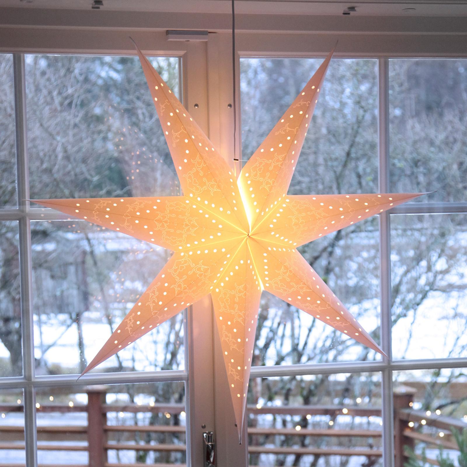 Siebenzackige Sensy Star Dekorationsleuchte