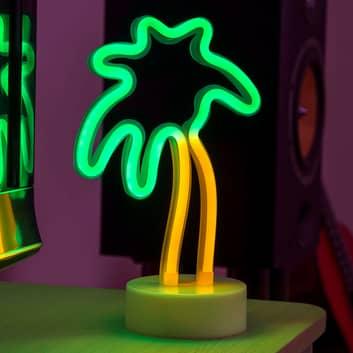LED-koristevalaisin Palmu, paristokäyttöinen