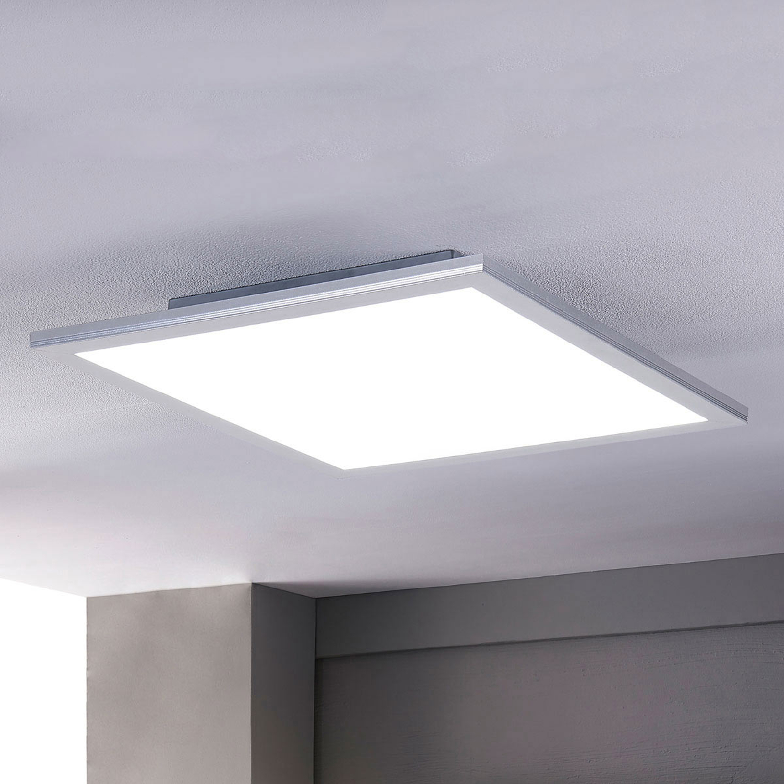 Lindby Livel LED-panel, CCT, 62 x 62 cm