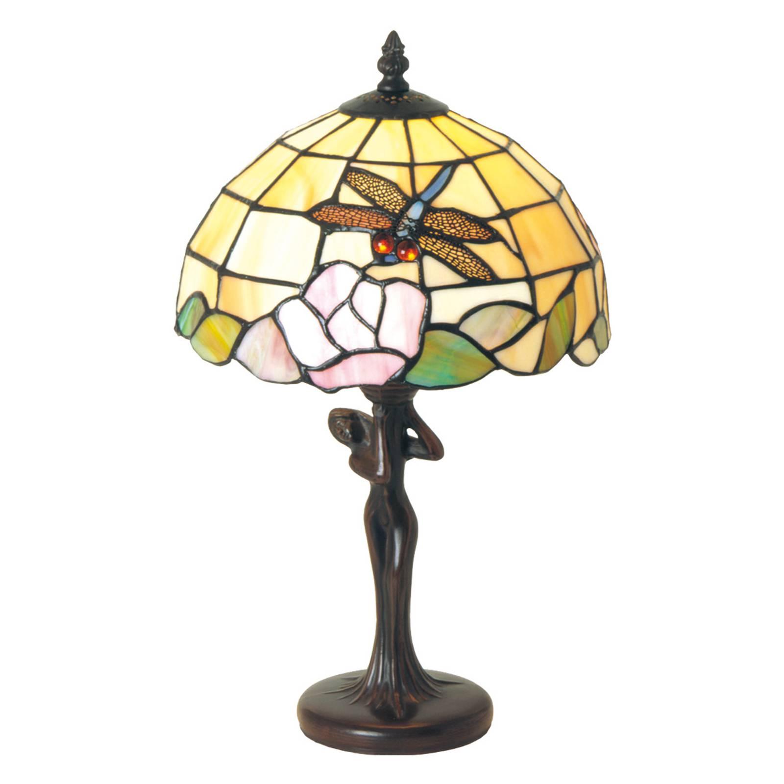 Lampe à poser Sirin au style Tiffany