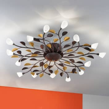 Indrukwekkende plafondlamp Campania