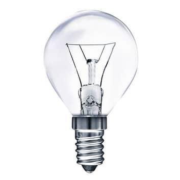E14 25W ugnslampa droppform, varmvit