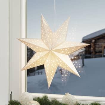 Estrella Solvalla para colgar, 45 cm, dorado