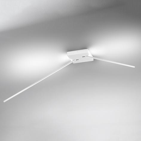Led-plafondlamp Spillo, 2 armig