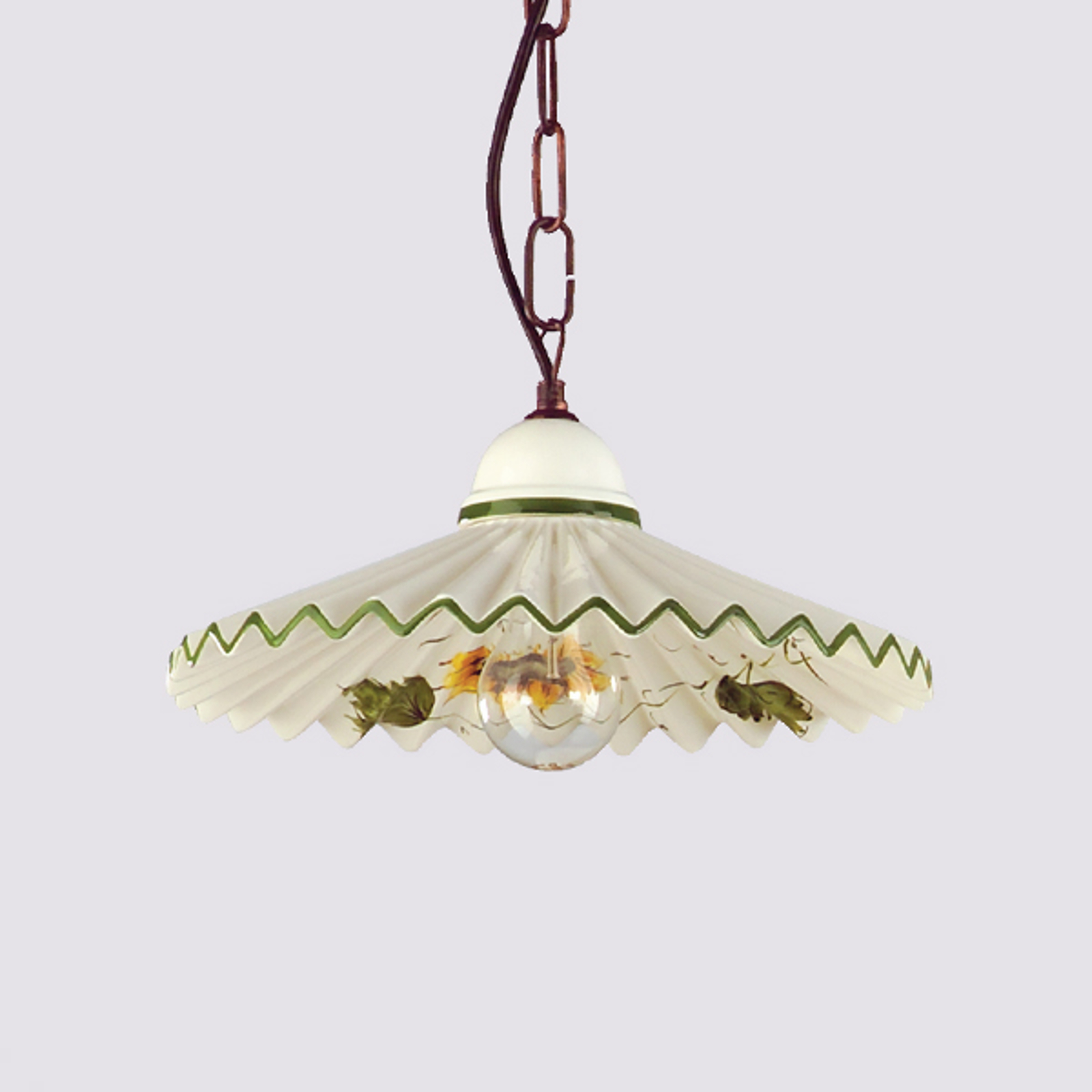 Hanglamp Rusticana met kettingophanging