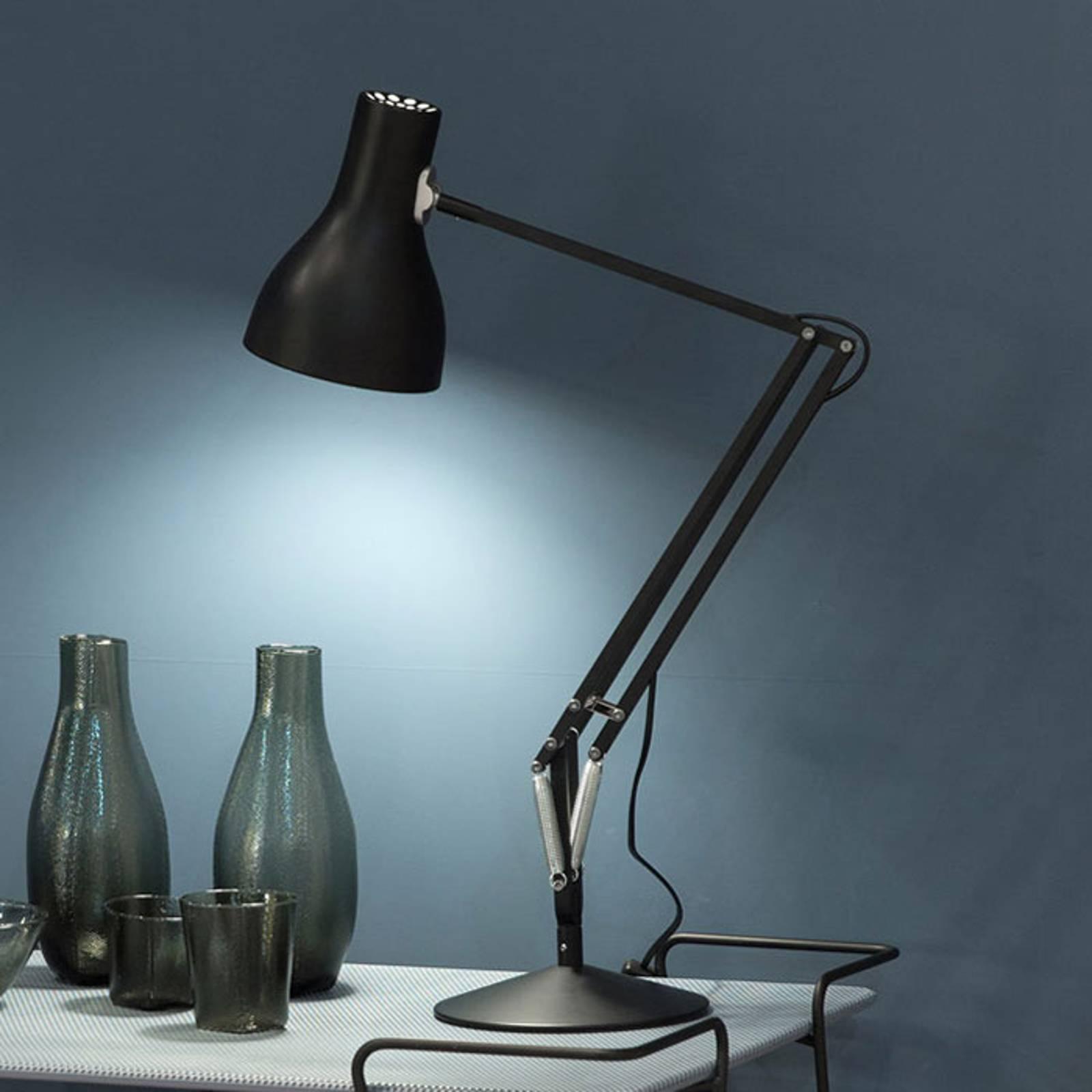 Anglepoise type 75 tafellamp fluweelzwart