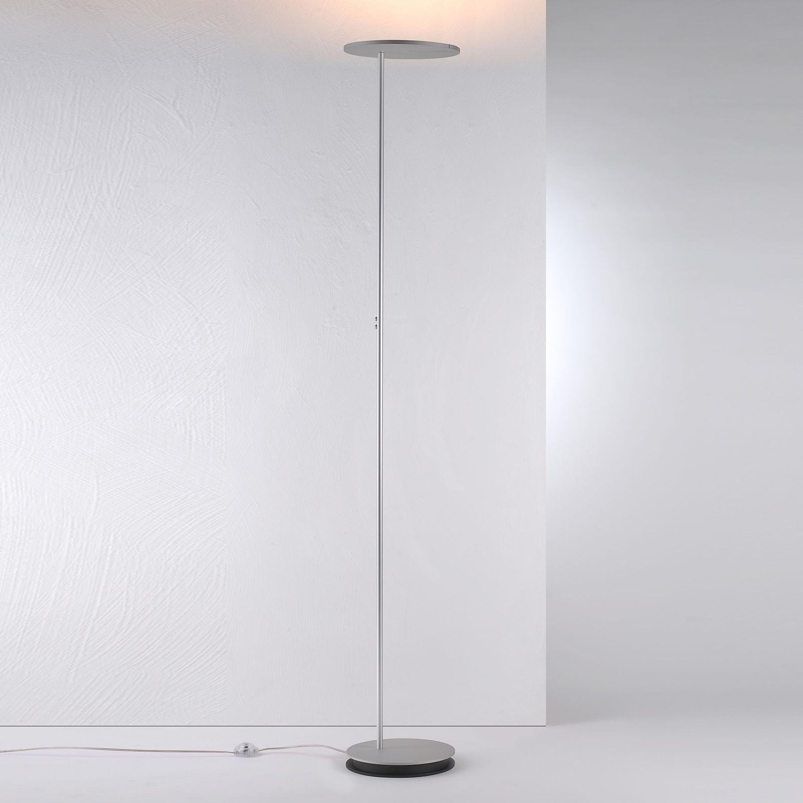 Bopp Share lampadaire indirect LED liseuse, alu