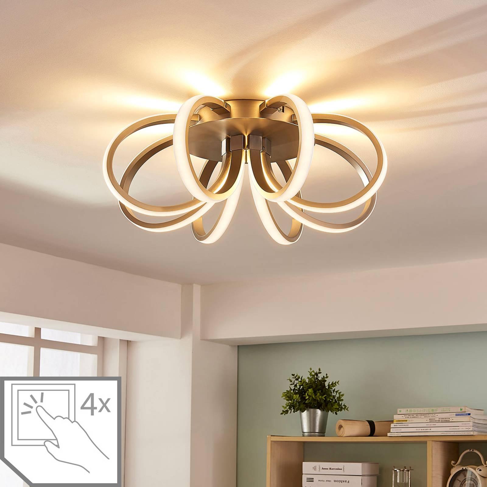 Lampa sufitowa LEd Vada w kształcie kwiatu