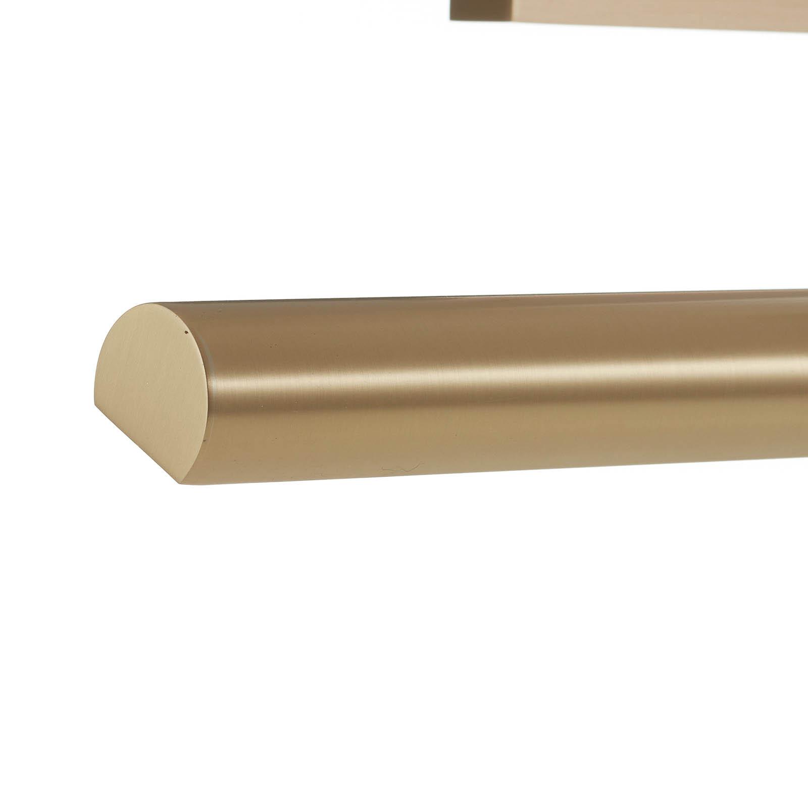 Longue applique pour tableau PICTURE laiton mat