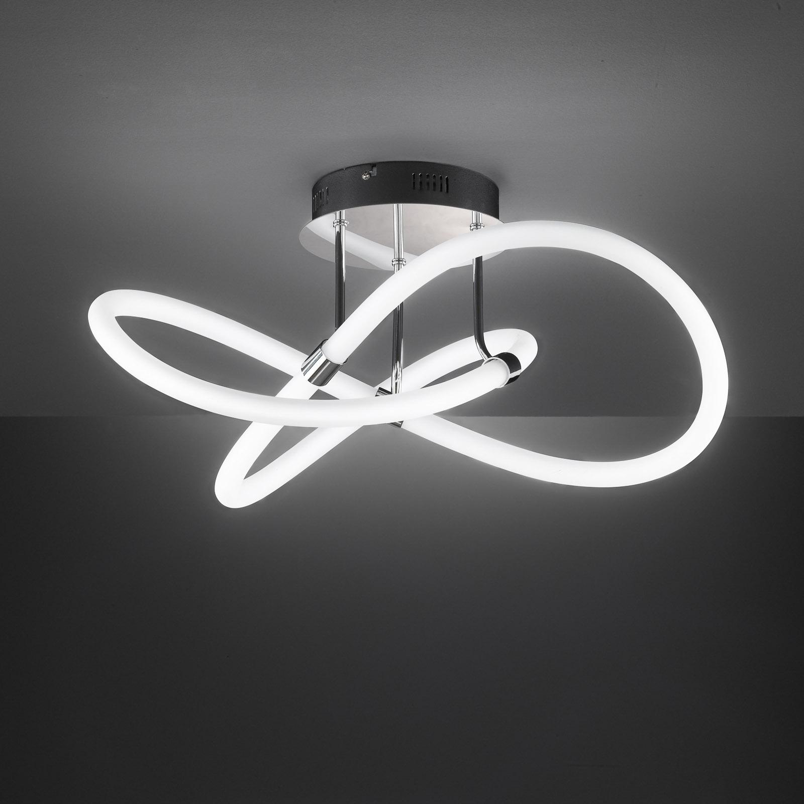 LED plafondlamp Mira met afstandsbediening Ø57,5cm