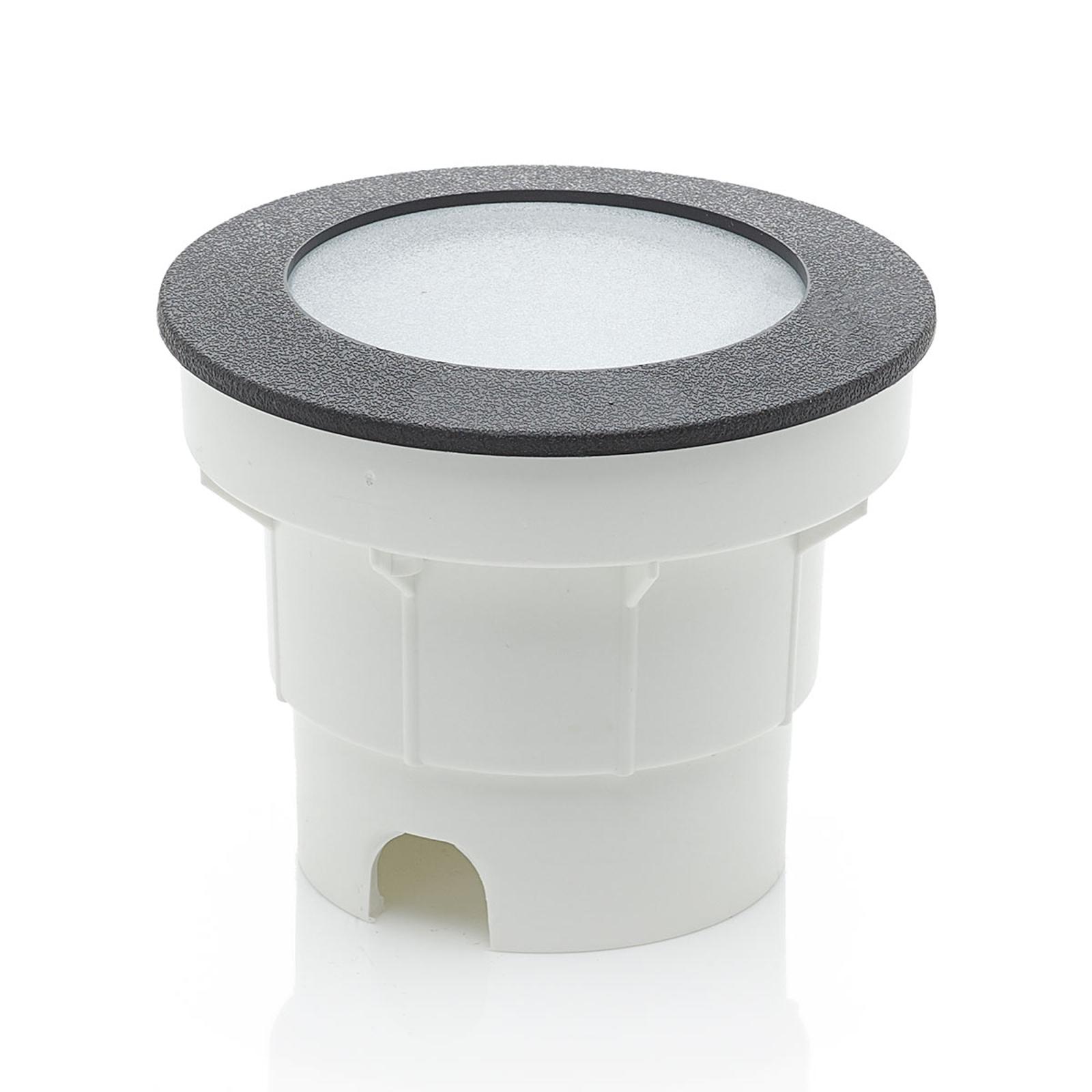 LED grondspot inbouwlamp Ceci 120 zwart CCT
