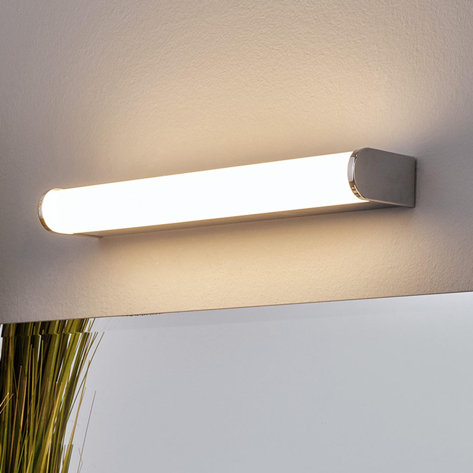 Applique miroir bain LED Philippa demi-ronde 32cm