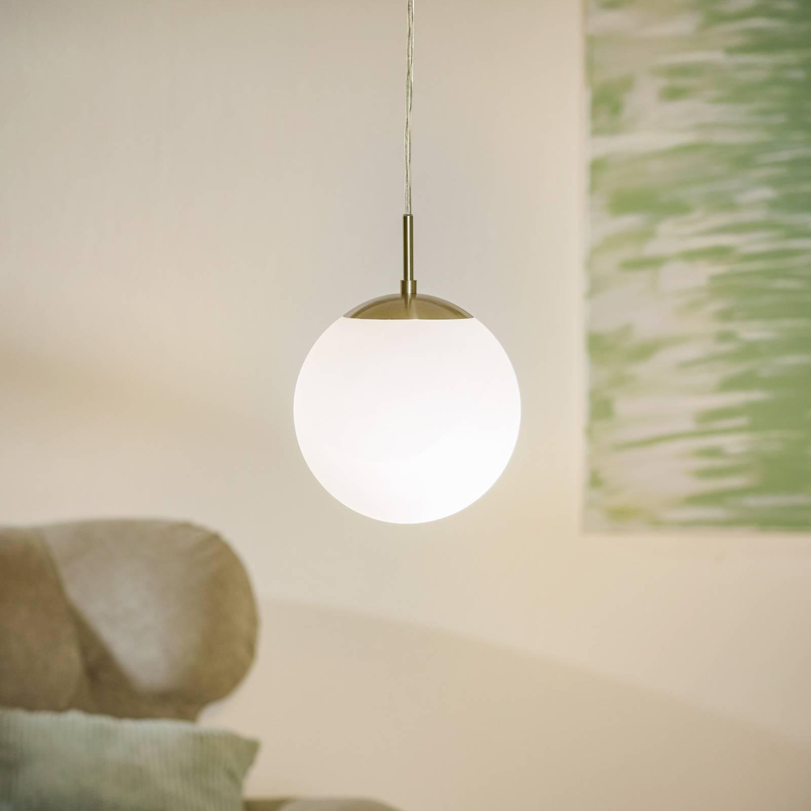 Elegancka lampa wisząca Rondo 20 cm