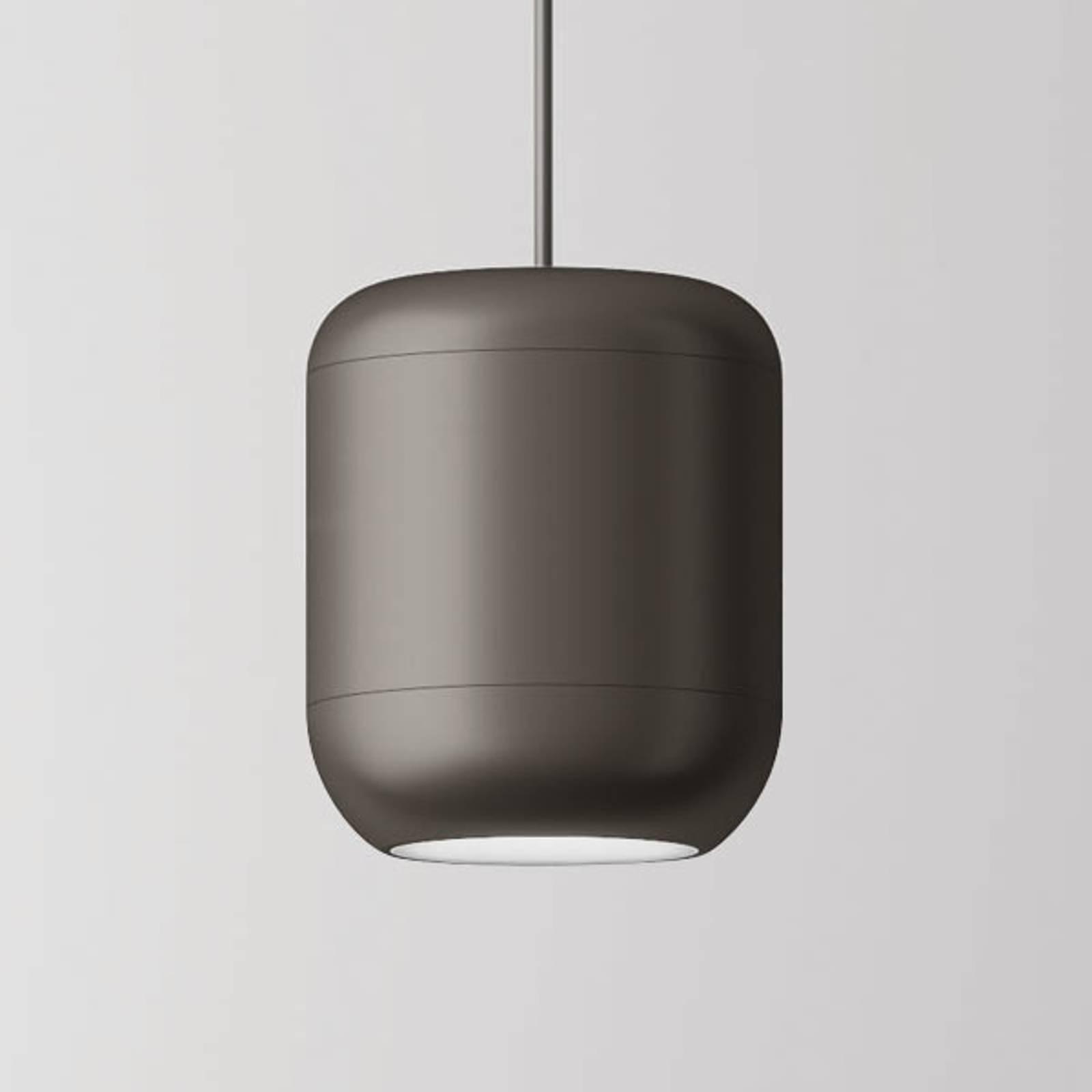 Axolight Urban LED-Pendelleuchte 26 cm nickel matt