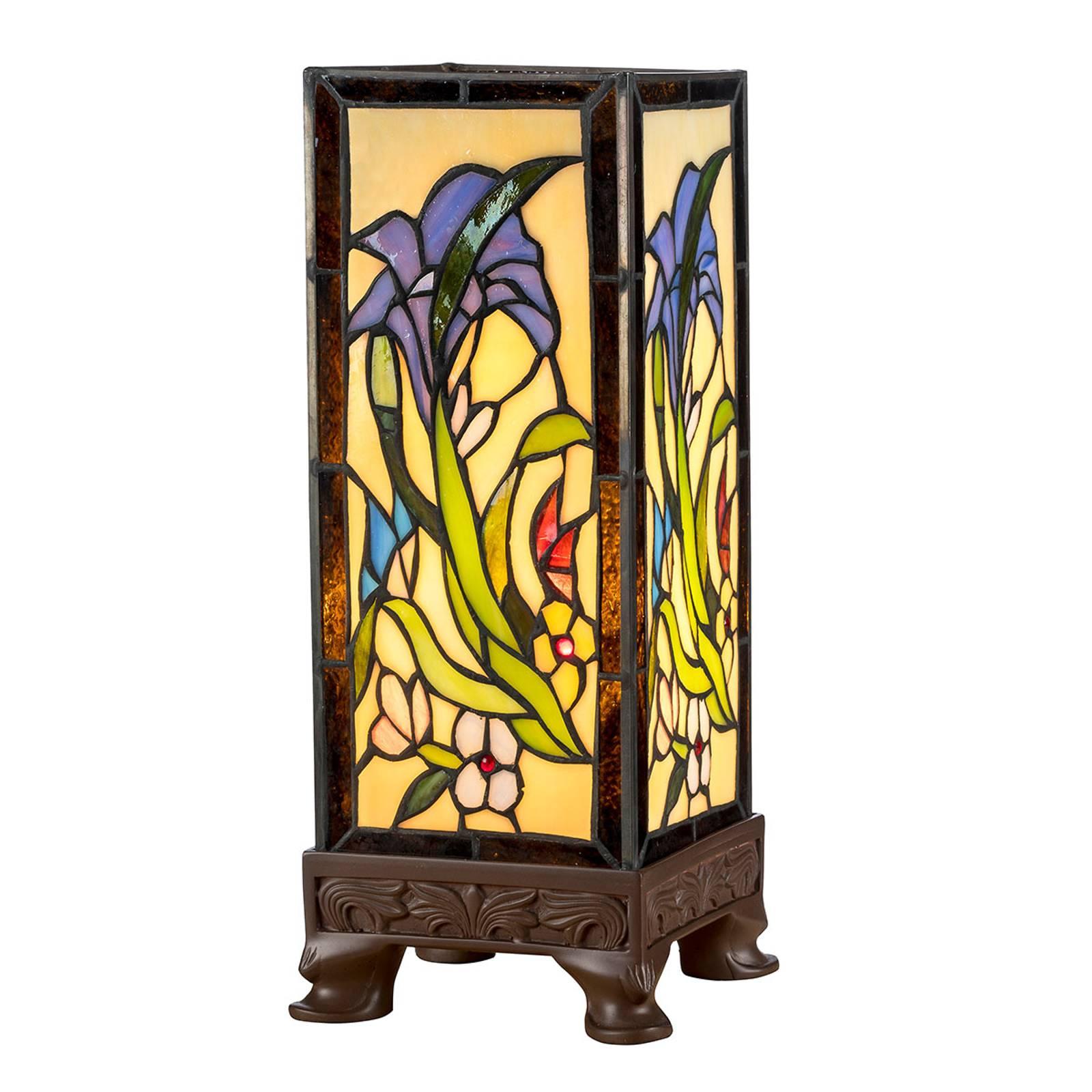 Lampada da tavolo KT180029 stile tiffany 4 basi