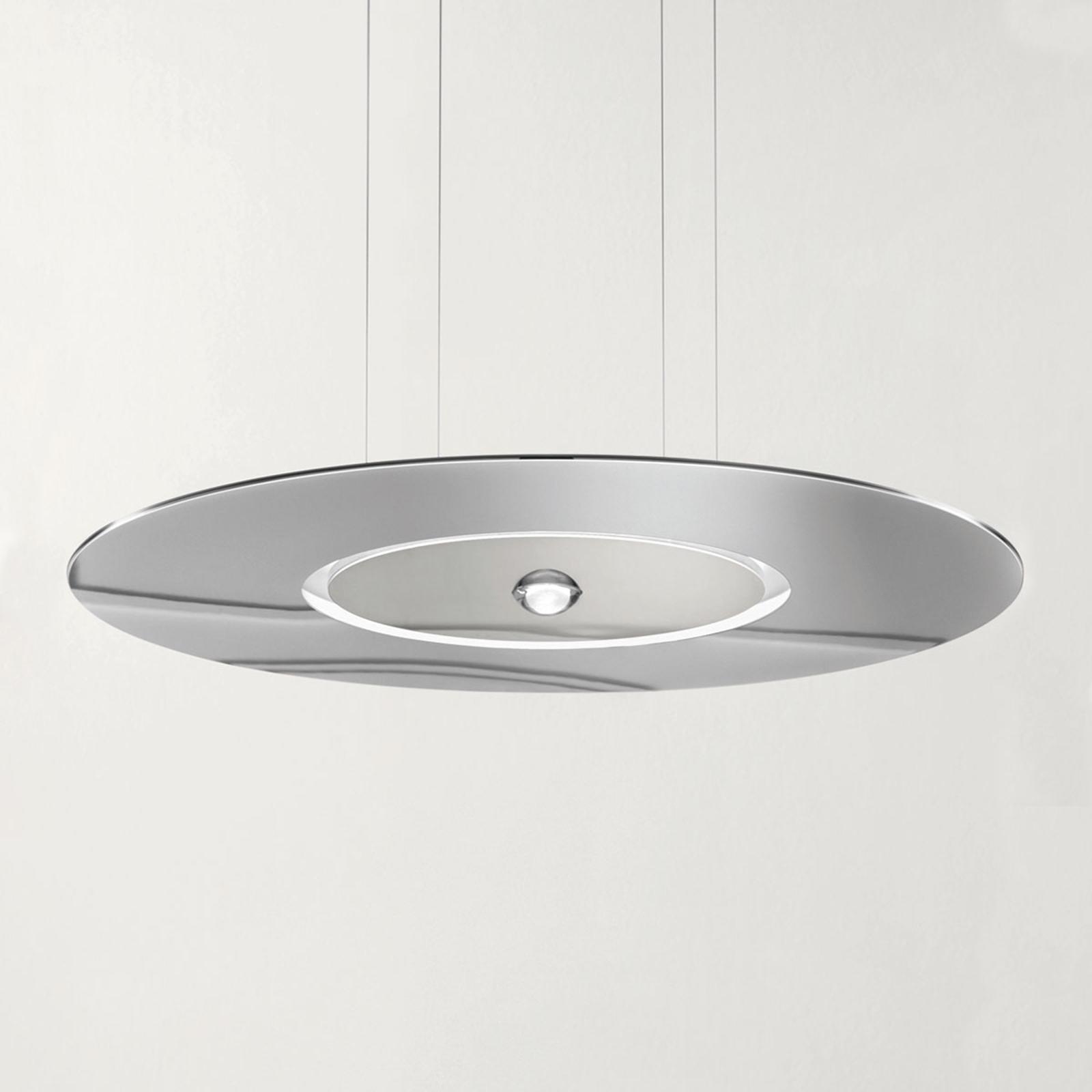 Cini&Nils Passepartout55 suspension LED chromée