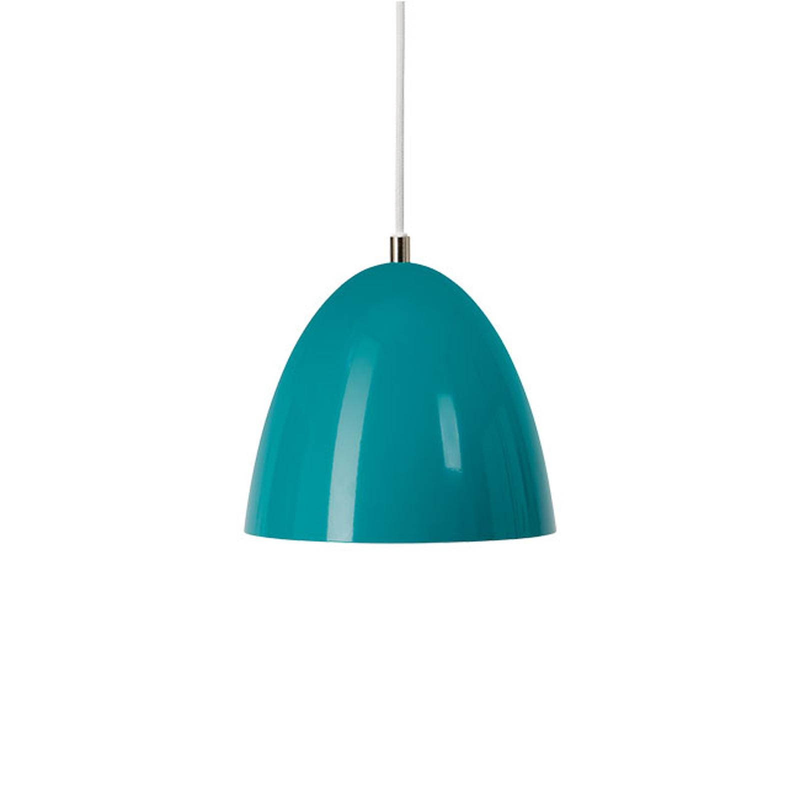 LED-Hängeleuchte Eas, Ø 24 cm, 3.000 K, türkis