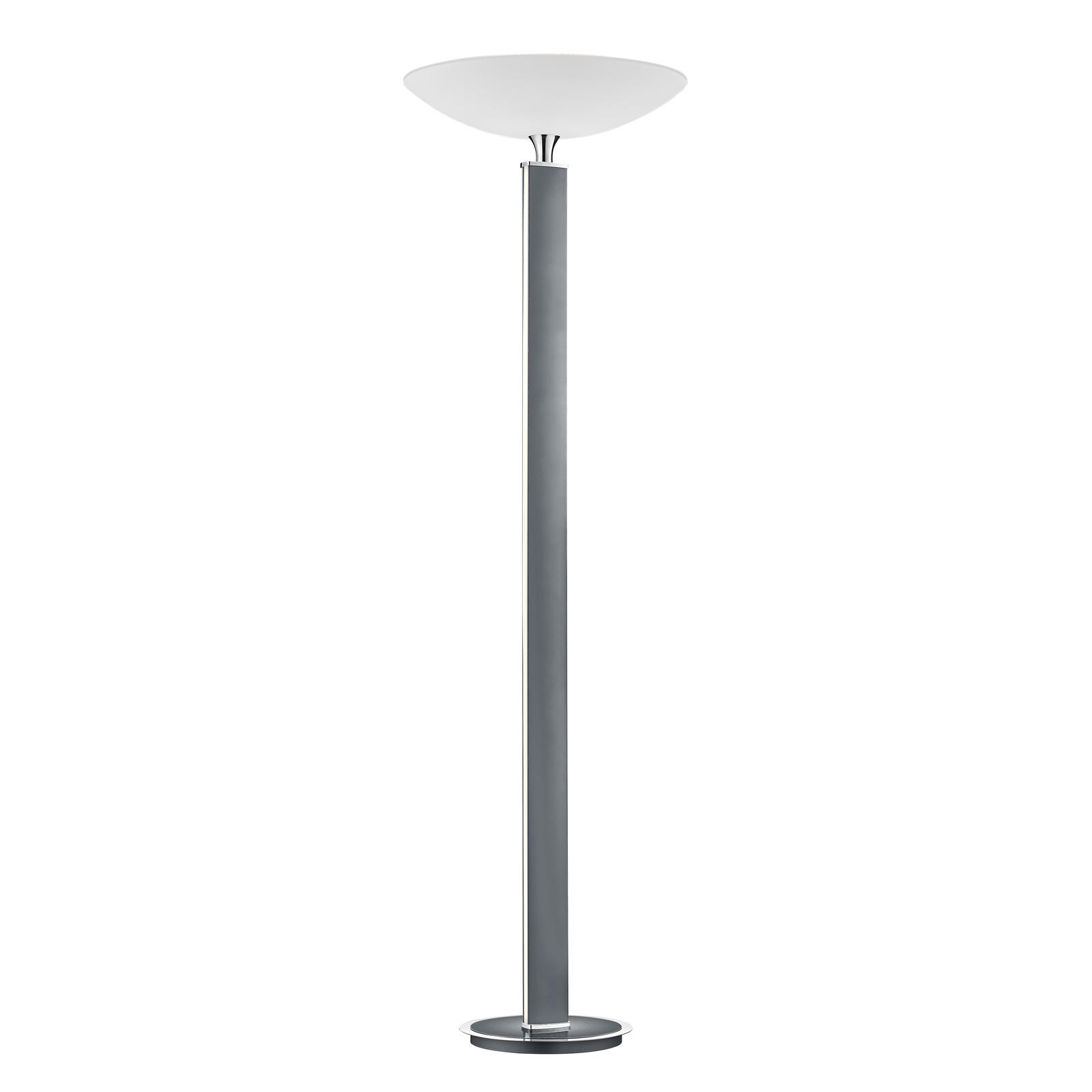 BANKAMP Pure F LED uplighter, antraciet