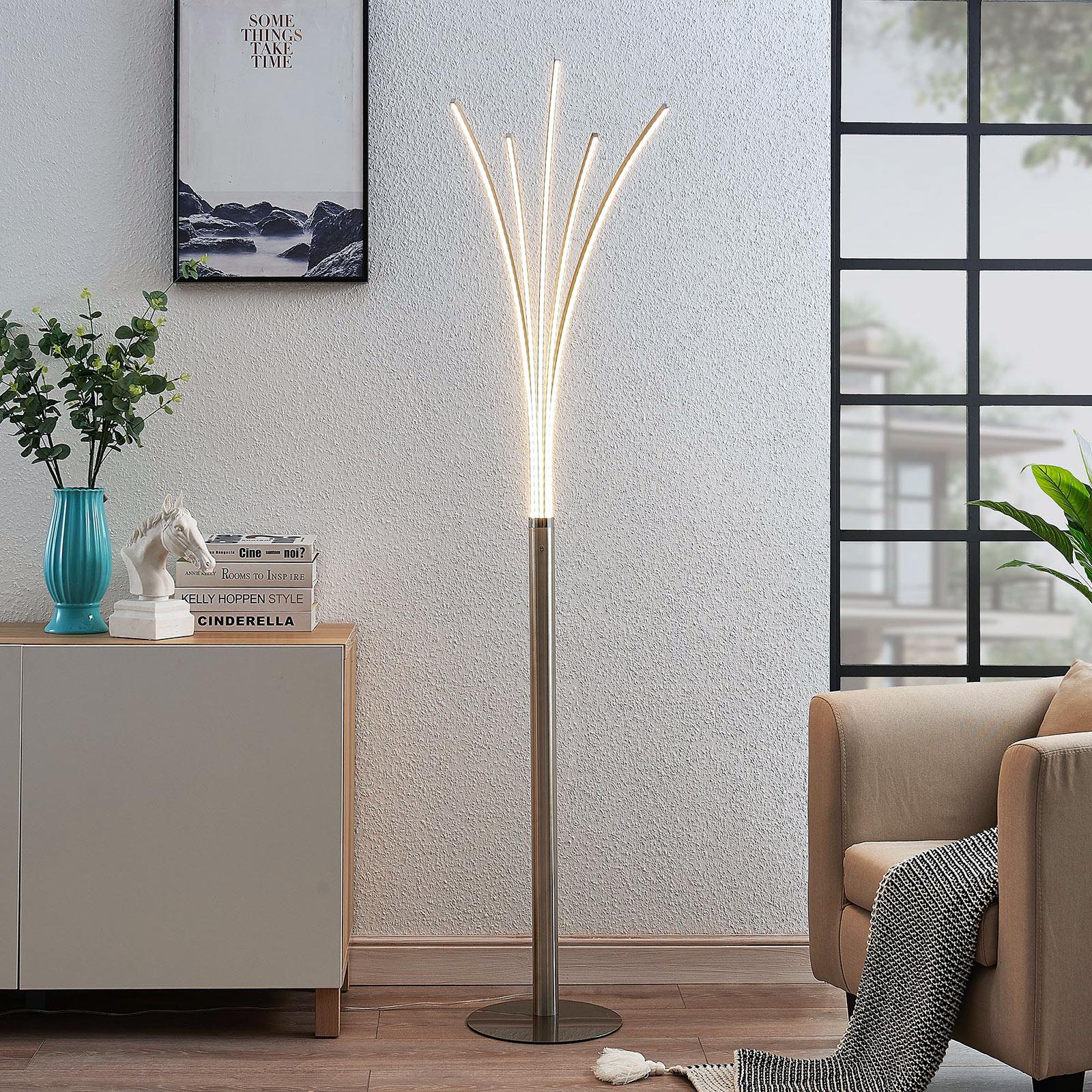 Monivartinen Boba-LED-lattiavalaisin