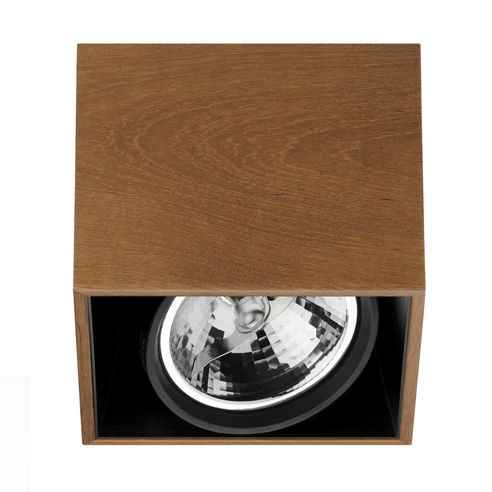 FLOS Compass Box H135 - Deckenleuchte teak