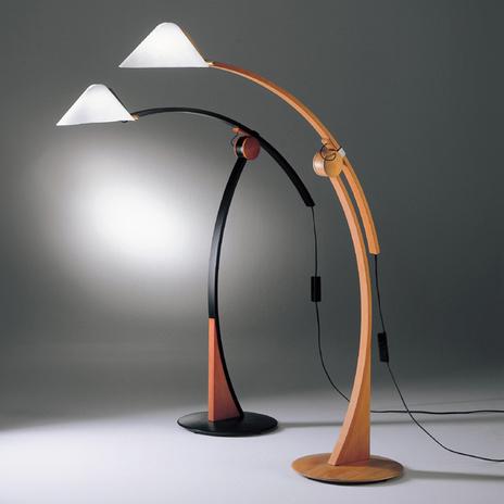 Lampa stojąca Pollo E27, ściemniana